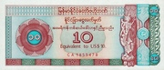 10 Dollar (Foreign Exchange Certificate) -  obverse