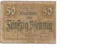 50 Pfennig (with expiry date) – obverse