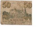 50 Pfennig (with expiry date) – reverse