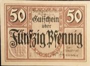 50 Pfennig (without expiry date) – obverse