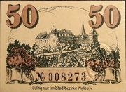 50 Pfennig (without expiry date) – reverse