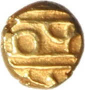 1 Fanam (Kanthirava) – reverse
