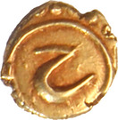 Fanam - Tipu Sultan (Farrukhi mint) – obverse