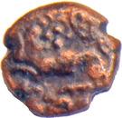 2½ Cash - Krishna Raja Wodeyar (Mysore) – obverse