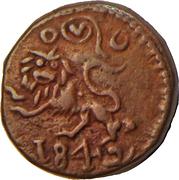 10 Cash - Krishna Raja Wodeyar (Mysore) – obverse