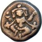 ⅔ Pavali - Krishnaraja Wadiyar III – obverse