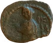 Prutah - Aretas IV & Shaqilath – reverse