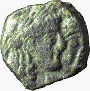 Prutah - Rabbel II and Hagru – obverse