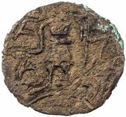 1 Hemidrachm - Anoymous (Nakhshab; debased late type) – reverse