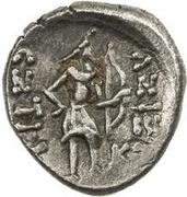 1 Drachm - Ashtat (Nakhshab) – reverse