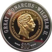 10 Dollars (Wilhelm II) – reverse