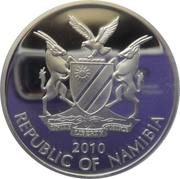 20 Dollars (The Bank of Namibia) – obverse