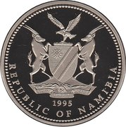 1 Dollar (5th Year of Independence) – obverse