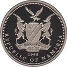 1 Dollar (Miss Universe Namibia) – obverse