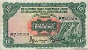 10 Shillings (South West Africa) – obverse