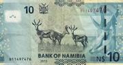 10 Namibia Dollars – reverse