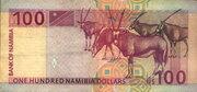 100 Namibia Dollars – reverse