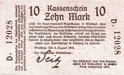 10 Mark (German South West Africa) – obverse