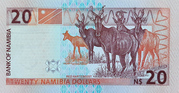 20 Namibia Dollars – reverse