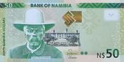 50 Namibia Dollars – obverse