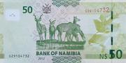 50 Namibia Dollars – reverse