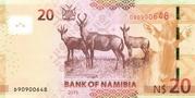 20 Namibian Dollars – reverse