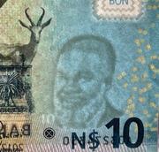 10 Namibia Dollars -  obverse