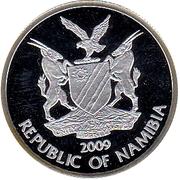 10 Dollars (World Championship of Football - Johannesburg - Soccer City) – obverse