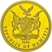 100 Dollars (Namibia Olympics 1996) – obverse