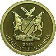 10 Dollars (The Bank of Namibia) – obverse