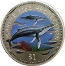 1 Dollar (Marine Life Protection) – reverse