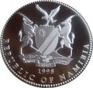 10 Dollars (Miss Universe Namibia) – obverse