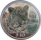 10 Dollars (Miss Universe Namibia) – reverse