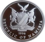 10 Dollars (Namibia Olympics 1996) – obverse