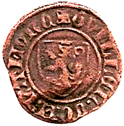 2 Mites Flamand - Guillaume II – obverse