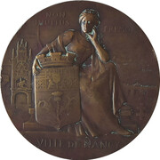 Medal - Exposition Internationale, Nancy 1909 – obverse