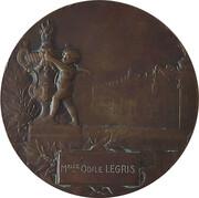 Medal - Exposition Internationale, Nancy 1909 – reverse