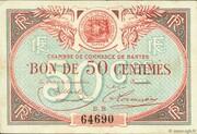 50 Centimes - Chambre De Commerce De Nantes – obverse