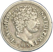 ½  Lira - Joachim Murat – obverse