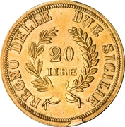 20 Lire - Joachim Murat – reverse