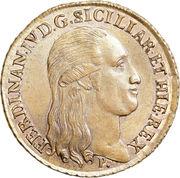 10 Tornesi - Ferdinando IV (Pattern) – obverse