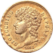 40 Lire - Joachim Murat – obverse