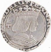 1 Carlino - Fernando II & Isabella I – obverse
