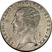 1 Piastra, 120 Grana - Joseph Napoleon – obverse