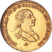 2 Ducati - Ferdinando IV – obverse