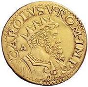 2 Scudo d'Oro - Carlo V – obverse
