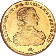 6 Ducati - Ferdinando IV – obverse