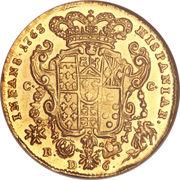 6 Ducati - Ferdinando IV – reverse