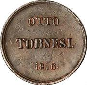8 Tornesi - Ferdinando IV – reverse