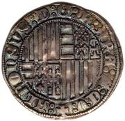 1 Carlino - Alfonso I – reverse